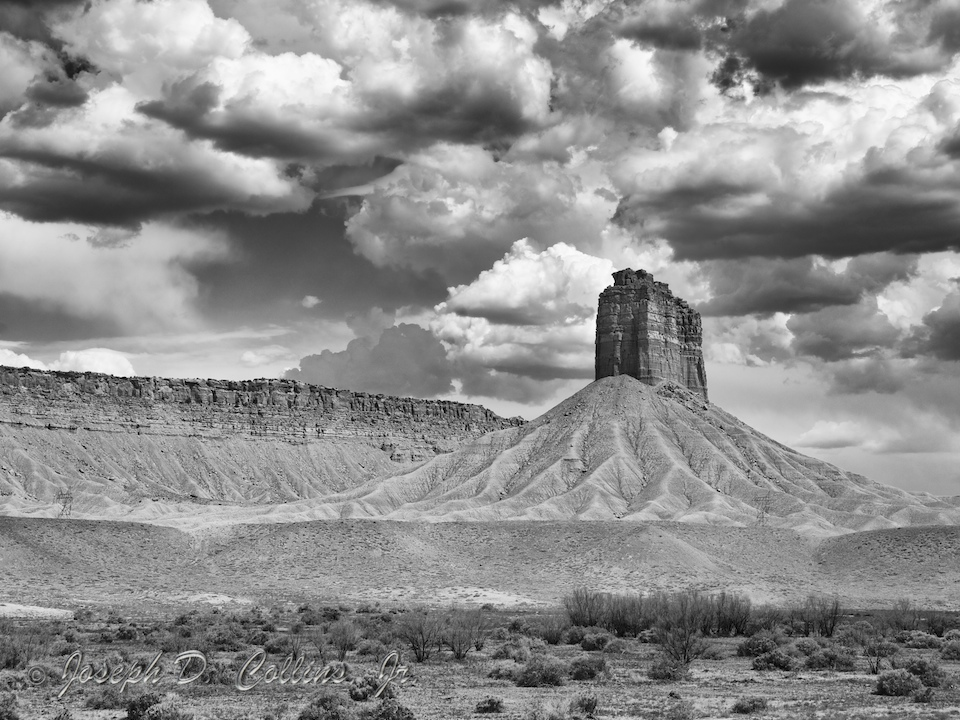 Chimney Rock near Ute Territory